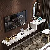 DS Shelf Wand-Trennwand Set-Top-Box Hintergrund Wand Regal einfache Schminktisch TV-Schrank Kombination [Vier Farben optional] 100/120/140/160/180 / 200cm # (Farbe : B, größe : 140cm)