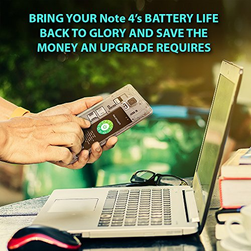 Galaxy Note 4 Battery RAVPower 3220mAh Replacement Battery for Samsung  Galaxy Note 4 with NFC