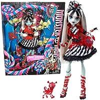 Monster High Frankie Stein Sweet Screams o Felices Monstruo Sueños
