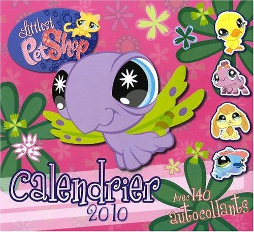 Calendrier 2010 Littlest Petshop (2010 Shop Pet Littlest)