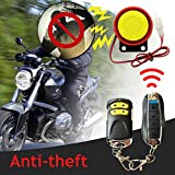 Sedeta Universal-Motorrad-Auto-Wasserbeständigkeit Zweiweg-LCD-Motorrad-Anti-Diebstahl-Alarmanlage