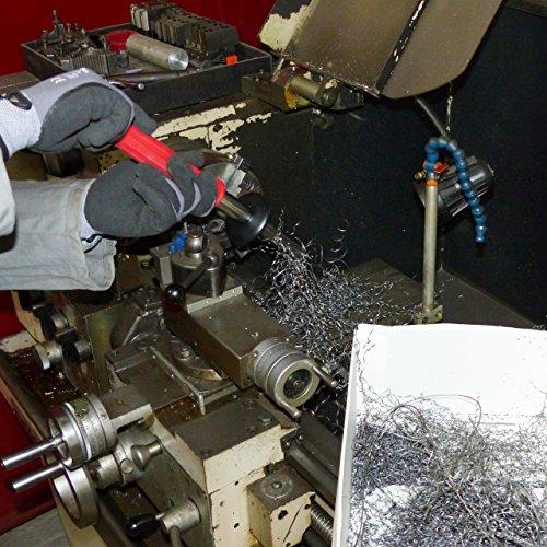 Magnetwerkzeug / Werkstattmagnet / Spanmagnet zur schnellen und sicheren Entfernung von Eisenteilen wie Drehspäne, Frässpäne, Sägespäne etc. aus Eisen und Stahl - 5