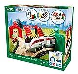 BRIO World 33873 - Smart Tech Reisezug Set, Groß
