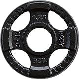 Focus Disque d'haltères Olympia 50 mm, Mixte, OPTK1-25, Noir, 1,25 kg...