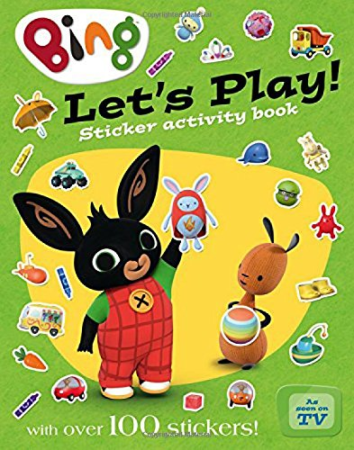 Let's Play sticker activity book (Bing) por Tom Jones