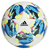 adidas Finale TTRN, Pallone da Calcio Uomo, Top:White/Bright Cyan Yellow/Shock Pink Bottom:Collegiate Royal/Black/Solar Orange, 5