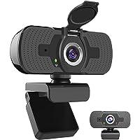iAmotus 1080P Webcam Full HD, Microfono Incorporato e Copertura Telecamera Plug And Play USB Fotocamera Web per…