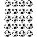 JZK 20 Palline Calcio Balilla 32 mm Stile Calcio Classico Bianco & Nero di plastica Mini Piccole Palle Ricambio per…