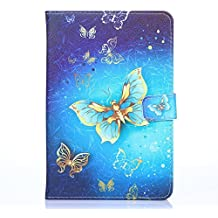 "Funda de Tablette 10.1 pulgadas, KATUMO® Universel Carcasa Fundas para BQ Aquaris de M10-Tablet 10,1""/Artizlee ATL-21 Plus Tablet PC de 10.1""/Dragon Touch X10 - Tablet de 10 pulgadas/Chuwi Hi10/HiBook Pro 10.1""/Alcatel One Touch Pixi3 10""/iRULU eXpro X1s/1Plus 10.1""/Yuntab K107 PC 10.1 pulgadas/BEISTA Tablet de 10.1 pulgadas/SPC Glee Tablet de 10.1"" Funda Carcasas Protector Flip Case Cover-Azul 1"