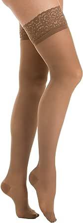 Relaxsan Prestige 870F calze elastiche autoreggenti 140 den compressione graduata 18-22 mmHg Lycra 3D