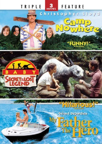 Camp Nowhere / Baby: Secret of the Lost Legend / My Father the Hero - Triple Feature by Sean Young, William Katt, Gerard Depardieu, Katherine Heigl Christopher Lloyd (Dvd Katherine Heigl-filme)