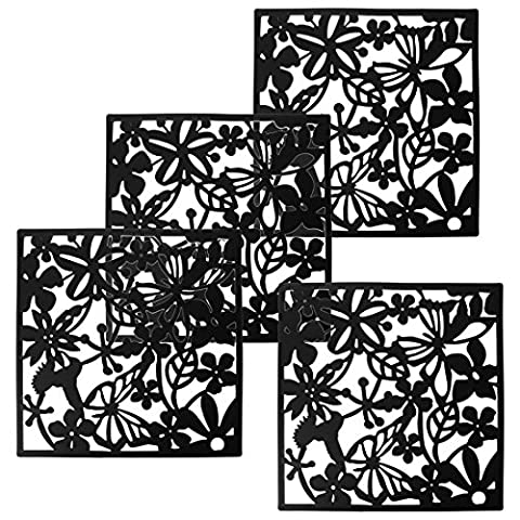 Divider Panel - TOOGOO(R) Fashion 4 Pcs Butterfly Bird Flower Hanging Screen Partition Divider Panel Room Curtain Home Decor