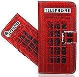 FoneExpert® Sony Xperia XA1 Handy Tasche, Wallet Case Flip Cover Hüllen Etui Hülle Ledertasche Lederhülle Schutzhülle Für Sony Xperia XA1