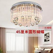 farfalla Illuminazione forma a forma di cuore lampada romantica in stile europeo lampada a led soffitto di cristallo camera rotonda a forma di cuore salone ristorante luci potere 220v 20-30W , Circular ,