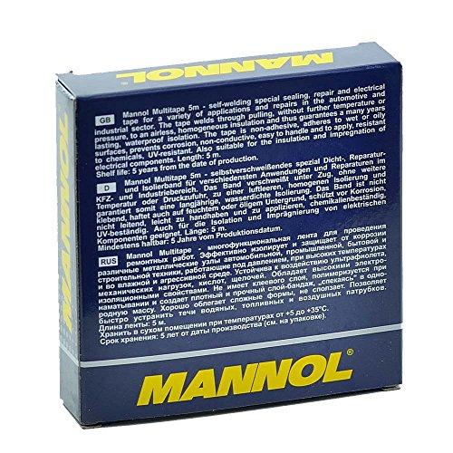 5m Multitape Isolierband Reparaturband selbstverschweißend MANNOL
