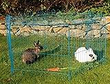 Kaninchengehege, Dobar, einstöckig, 6-eckiges Freilaufgehege - 5