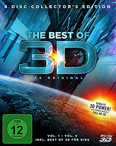 Best of 3D, 4 Disc Collector's Edition (exklusiv bei Amazon.de) [3D Blu-ray] [Limited Edition] (Beste 3d Blue Ray Filme)