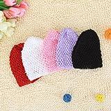 Generic 5pcs Versatile Crochet Beanies H...
