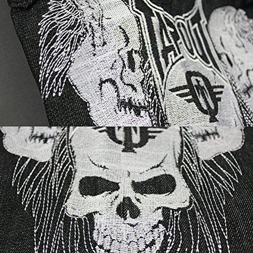 Dexinx Uomo Ragazzi Exquisite Skull Stampa Ballando Jeans Primavera Baggy  Hip Hop Denim Pantaloni b193776a1fbc