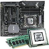 Intel Core i9-7900X / ASUS TUF X299 Mark 2 / 16GB Mainboard Bundle | CSL PC Aufrüstkit | Intel Core i9-7900X 10x 3300 MHz, 16GB DDR4-RAM, Wasserkühlung, GigLAN, 7.1 Sound, USB 3.1 Gen2 | PC Tuning Kit