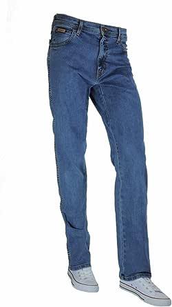 Wrangler Men's Texas Contrast Straight Jeans (Pack of 16)