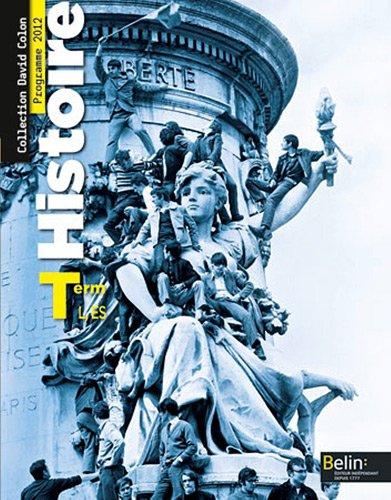 Histoire Tle L, ES : Programme 2012
