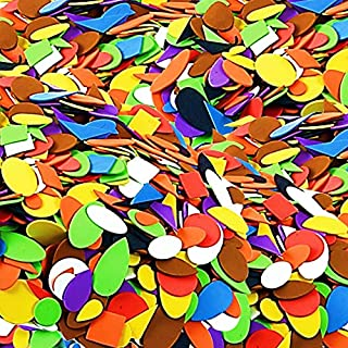 Self Adhesive Craft Foam Shapes 100pcs by Amazing Arts and Crafts