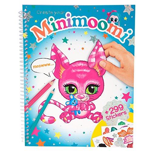 Preisvergleich Produktbild Ylvi & die Minimoonis 8382 - Create your Minimoomi Malbuch