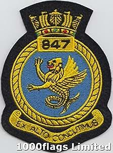 847Naval, Squadron Fleet Air Arm Royal Navy Aufnäher Patch
