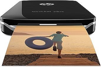HP Sprocket Plus Stampante Fotografica Istantanea Portatile, Nero (5,8 x 8,6 cm)