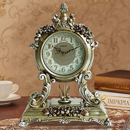 Edge to Tischuhren Antike Europäische Uhr Ruhig Wohnzimmer Uhr Nacht Uhr Kreative Schaukel Uhr...