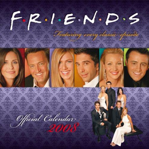 Click for larger image of Official 'Friends T.V.' Calendar 2008 2008