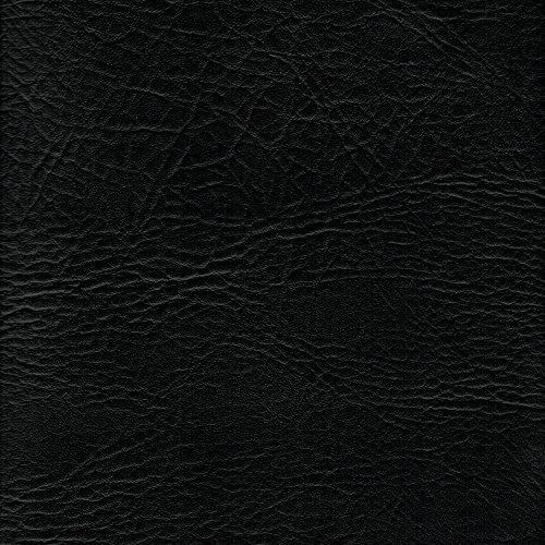 Kunstleder / Vinyl-Stoff, feuerhemmend, Polster-Material, Breite 137,2cm, schwarz, Meterware (Polster Stoff Protector)