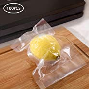 100 Pack Vacuum Sealer Bag Food Storage Saver Commercial Grade Bags Containers Food Packing Machine Accessories for Foodsaver
