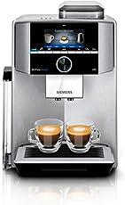 Siemens TI9555X1DE EQ.9 plus connect s500 Kaffeevollautomat, 1500 W, HomeConnect, 1 Bohnenbehälter, Großes TFT-Display, Baristamodus, Edelstahl