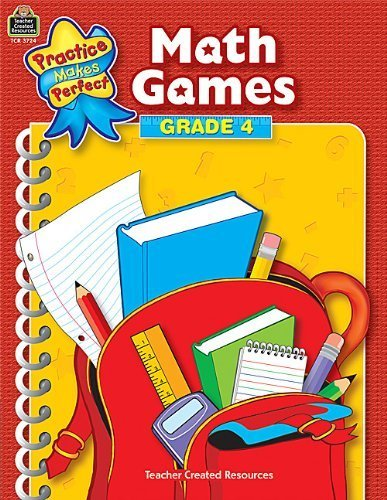 Practice Makes Perfect (Teacher Created Materials)) by Patti Sima (2003-02-15) (Math Games Grade 4)