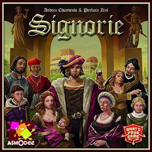 Preisvergleich Produktbild What's your Game 638006 - Signorie, Brettspiele, mehrfarbig