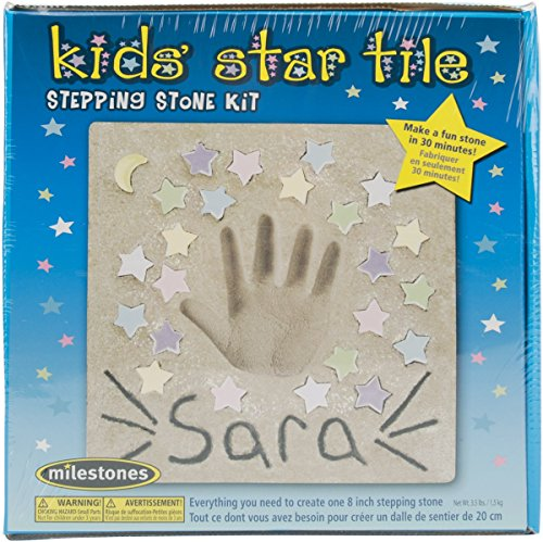 Mosaic Stepping Stone Kit-Kids' Star