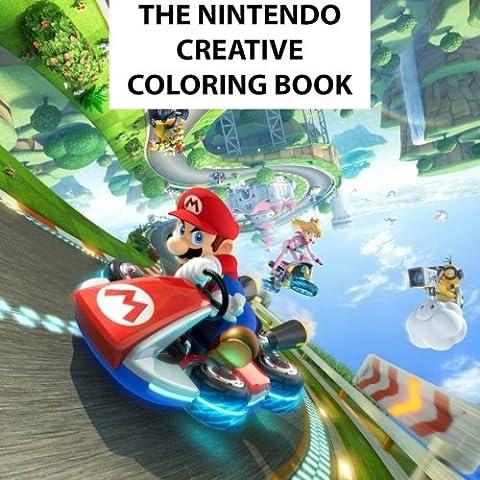 The Nintendo Creative Coloring Book: Kids, Kids books, Creative, Coloring, Activity, Luigi, Peach, Pikachu, Daisy, Wario, Zelda, Meta Knight, N64, ... U, Mario Kart, Pac-Man, Mario, Manga,