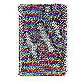 y-step Magic Sequin giornaliera diario reversibile paillettes ufficio notebook diario scuola per adulti bambini giorno regali di compleanno rainbow