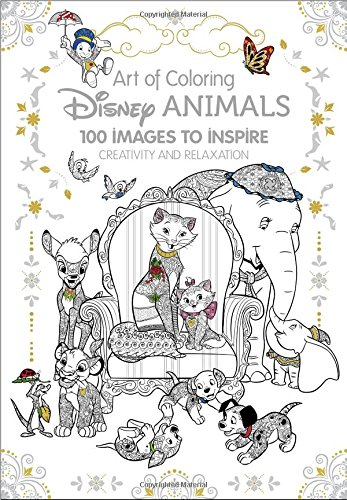 Disney Animals Adult Coloring Book: 100 Images to Inspire Creativity and Relaxation