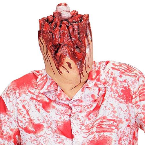 Maske * ABGEHACKTER KOPF * als Verkleidung für Halloween oder Karneval // Party Motto Kostüm Blut Karneval Party gruselig Costume beheaded (Für Halloween Personen Zwei Kostüme)