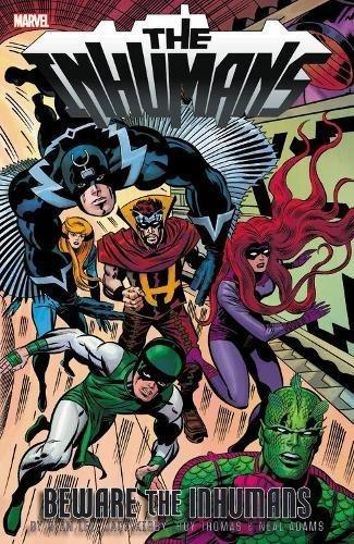 Inhumans: Beware The Inhumans por Stan Lee