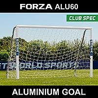 Forza Alu60 Football Goal Premier Quality Club Spec Aluminium Goals Choose Your Size