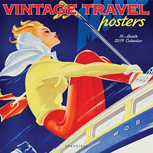 Vintage Travel Posters 2019 Calendar