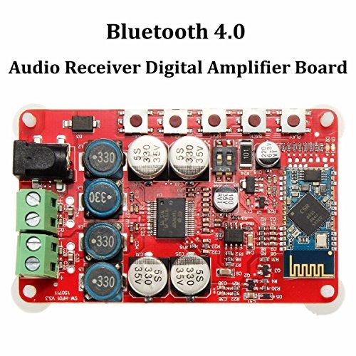 DollaTek TDA7492P 2 x 25 Watt Dual-Kanal-Verstärker Wireless Digital Bluetooth 4.0 Audio Receiver Verstärker-Brett 25W + 25W