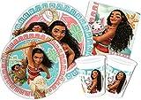 Ciao y4328–Kit Día de tabla Vaiana Oceania, multicolor