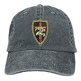 Aoliaoyudonggha Knights Templar Funny Denim Cap Trucker Hat Black