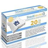 XXL-Pack - 20 Premium Staubsaugerbeutel geeignet Für ADIX: 104, SI 103 / SI103, SI 104 / SI104, SI 108 / SI108, SI 150 / SI150, SI 200 / SI200, SI 210 / SI210