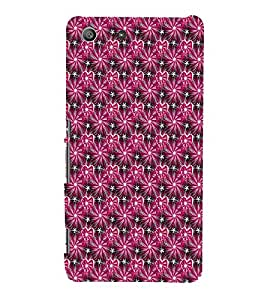 EPICCASE shiny hearts Mobile Back Case Cover For Sony Xperia M5 (Designer Case)